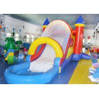 Wholesale Inflatable Bounce Castle Combination , Inflatable Outdoor Water Slide from china suppliers