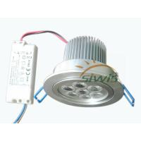 Wholesale Luminous Efficiency LED Ceiling Downlights 220V , 7W cri 78 700 Lm from china suppliers