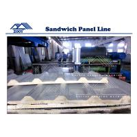 Wholesale Automatic PU Sandwich Production Line Galvanized Steel 0.3-0.8mm from china suppliers
