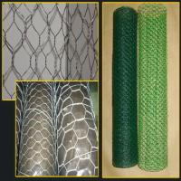 Wholesale Home Black Rabbit Wire Netting , 20 Gauge Hexagonal Wire Mesh Fence from china suppliers