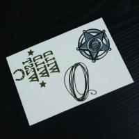 Quality Fashion Body Tattoo Stickers , Customizable Fake Hand Tattoo Stickers for sale