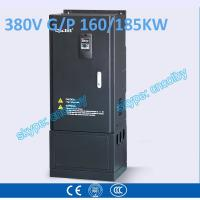 Wholesale 160kw 185kw motor pump 50Hz/60Hz AC drive CNC Variable-Frequency Drive VFD AC-DC-AC Low Voltage frequency converter from china suppliers