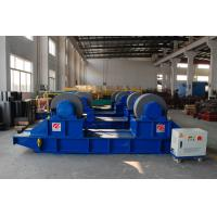 Quality 400T Heavy Loading Bolt Pipe Rotators For Welding , Lubrication System for sale