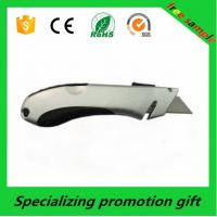 Wholesale Heavy Duty Aluminium Alloy Auto Retractable Pocket Utility Knife ROHS / SGS from china suppliers