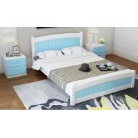 Modern Apperance King Size Pine Bed , Single Wooden Frame Beds With Drawers