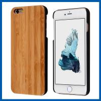 Wholesale 4.7 Inch Real Handmade Natural Wood Bamboo Cell Phone Case For Iphone 6 from china suppliers