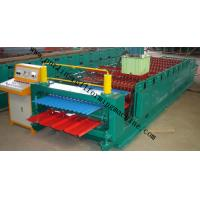 Wholesale Corrugated Double Layer Roll Forming Machine , Wave Galvanized Roof Sheet Cold Roll Former from china suppliers