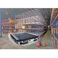 Wholesale Customized Radio Shuttle System Pallet Racking For Large Automatic Warehouse Use from china suppliers