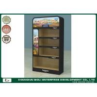 Buy cheap Custom Retail Shop Metal Lighting Retail Merchandising Displays 3 Tiers Promotional from wholesalers