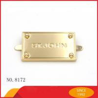 Wholesale Embossed Handbag Metal Hardware Pin Zinc Alloy For Luggage Nickle Free from china suppliers