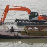 Wholesale Amphibious Excavator with 0.8cbm Bucket Isuzu Engine and Japanese Hydraulic Systems from china suppliers