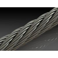 Wholesale Military Grade Galvanized 7x7  Aircraft Cable Full Reel , Strand 1x19 wire rope from china suppliers
