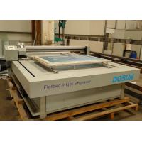 Wholesale Computer To Screen Flatbed Engraving Machine With High Speed Inkjet Head 5600mm × 3400mm Screen from china suppliers