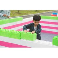 Wholesale children educational toys solid plastic blocks building block from china suppliers