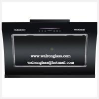 Wholesale Kitchen Hoods, Smoke Extractor with Black Silk Screen Tempered/Toughened glass from china suppliers