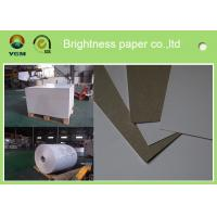 Wholesale 230g - 450gsm Grey Back Duplex Paper Board In Roll And Sheet SGS Certified from china suppliers