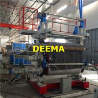 Quality Plastic PVC Marble Sheet Machine Plastic Mat Making Machine 350-400Kg/h for sale
