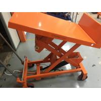 Wholesale High Capacity Manual Tilt Table Truck TF30F TF50F 490×550 Mm Table Dimensions from china suppliers