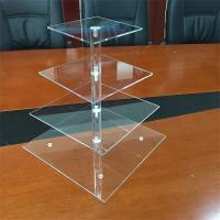 Wholesale Fashionable Wholesale 4-Tier acrylic cake display stand /rack/shelf for shop from china suppliers