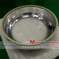 Wholesale Resin Bond Diamond peripheral wheel for indexable inserts (6A2T, 6A2M, 11A2B) from china suppliers