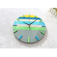 "Wholesale 12"" Large Round Creative Wall Clocks Ultra Thin Battery Operated Clock from china suppliers"