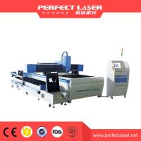 Wholesale 90 m / min Fiber Laser Cutting Machine For Round Metal Pipe / Sheet Cutting from china suppliers