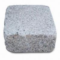 China Paving Stones, Made of G603 Material, Measures 20 x 20 x 9 to 10cm on sale
