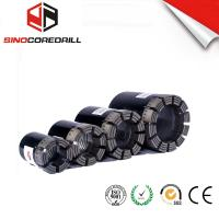 Wholesale Geological Diamond Core Drill Bit , Diamond Impregnated Bits With High Speed from china suppliers