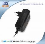 Wholesale CCTV Cameras EU Plug Power Adapter AC DC  Black 90V - 264V AC Input Voltage from china suppliers