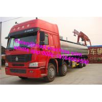Wholesale Green Sinotruck Howo Water Tanker 8 x 4 38000L Truck 371hp Euro 2 / Euro 3 from china suppliers