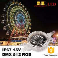 Wholesale 40mm 50mm DC24V Waterproof Rgb LED Pixel Light For Building Lighting from china suppliers