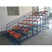 Wholesale Movable Aluminum Portable Indoor Bleachers Hard Welding With Armrest from china suppliers