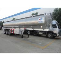 Wholesale factory sale best price 45000 liters 3 axles stainless steel milk tanker trailer, HOT SALE! 45cbm food grade milk tank from china suppliers