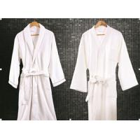 Wholesale Wellness Luxury Hotel Bathrobes With Belt , Bathrobes Terrycloth from china suppliers