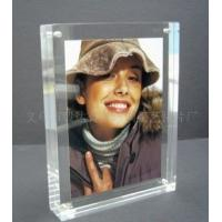 Wholesale Eco-friendly Durable Acrylic Photo Frames Clear 10mm / 15mm / 18mm With Magnet from china suppliers