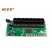 Wholesale High Speed Network Switch Module 8 Port , Multi Port Ethernet Switch PCBA Board from china suppliers