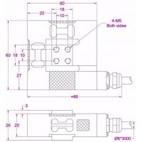 multiple axis force transducer