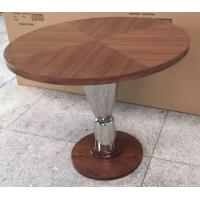 Wholesale wood top metal base Dining table /activity table for hotel furniture/casegoods DN-0019 from china suppliers