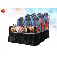 Wholesale Interactive Fog Smell Fire 7D Movie Theater With 5.1 Sound Track System from china suppliers