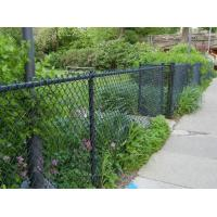 Wholesale Green Black Hot dipped Galvanized Boundary Wall chain link fencing High Security , PVC Coa from china suppliers