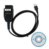 Wholesale VAGCOM 14.10.2 VAG Diagnostic Cable English German Version for VW, AUDI ,Seat and Skoda from china suppliers