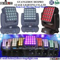 Wholesale Rotating Stage Light 5*5 LED Matrix Beam For Nightclub / Concert / Disco from china suppliers