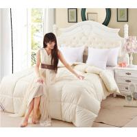 Wholesale King Size Cotton Duck Down Feather Quilt / Duvet Box Quilting for Wedding or Household from china suppliers