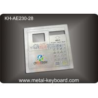 Wholesale Vandal proof Metal panel mount keypad ,  customizable industrial keypad from china suppliers