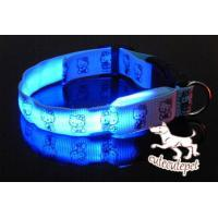 Buy cheap Hello kitty LED dog collar, for medium and small size dog from wholesalers