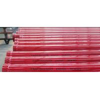 Wholesale 5 Inch DN125 Concrete Pump Pipeline , Concrete Pump Heating Pipe with 45Mn2 / 55Mn from china suppliers