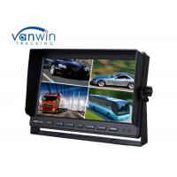 Wholesale Truck / Van / Bus TFT Car Monitor 24v 10.1 inch 16:9 digital rear view monitor 4 ways input / output from china suppliers