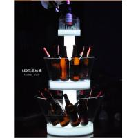 China 2015 New Arrival LED ice bucket For bar nightclub led three layer Acrylic Ice Bucket on sale