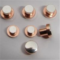 Wholesale silver and copper alloy electrical contact points with high electrical conductivity from china suppliers