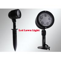 Wholesale 5W LED Garden Flood Lights , Outdoor Garden Spotlights With Spike Base from china suppliers